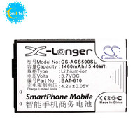 iconstel CameronSino CS ACS500SL 3.7V 1460mAh Battery for Acer CloudMobile S500 BAT 610 smart phone lithium ion battery pack