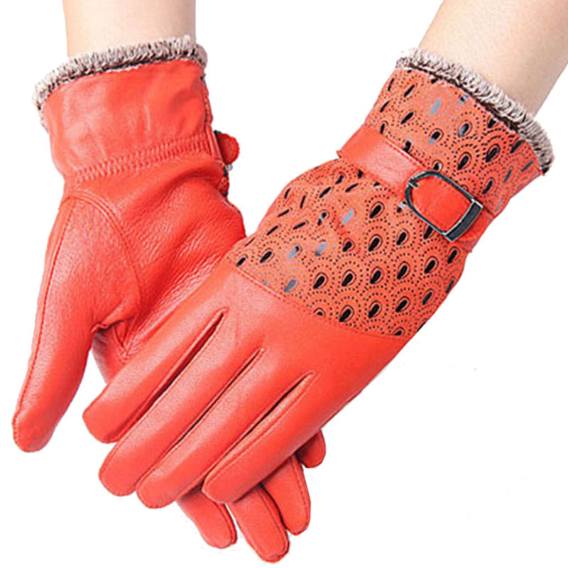 Women's Winter Gloves of Bright Colours