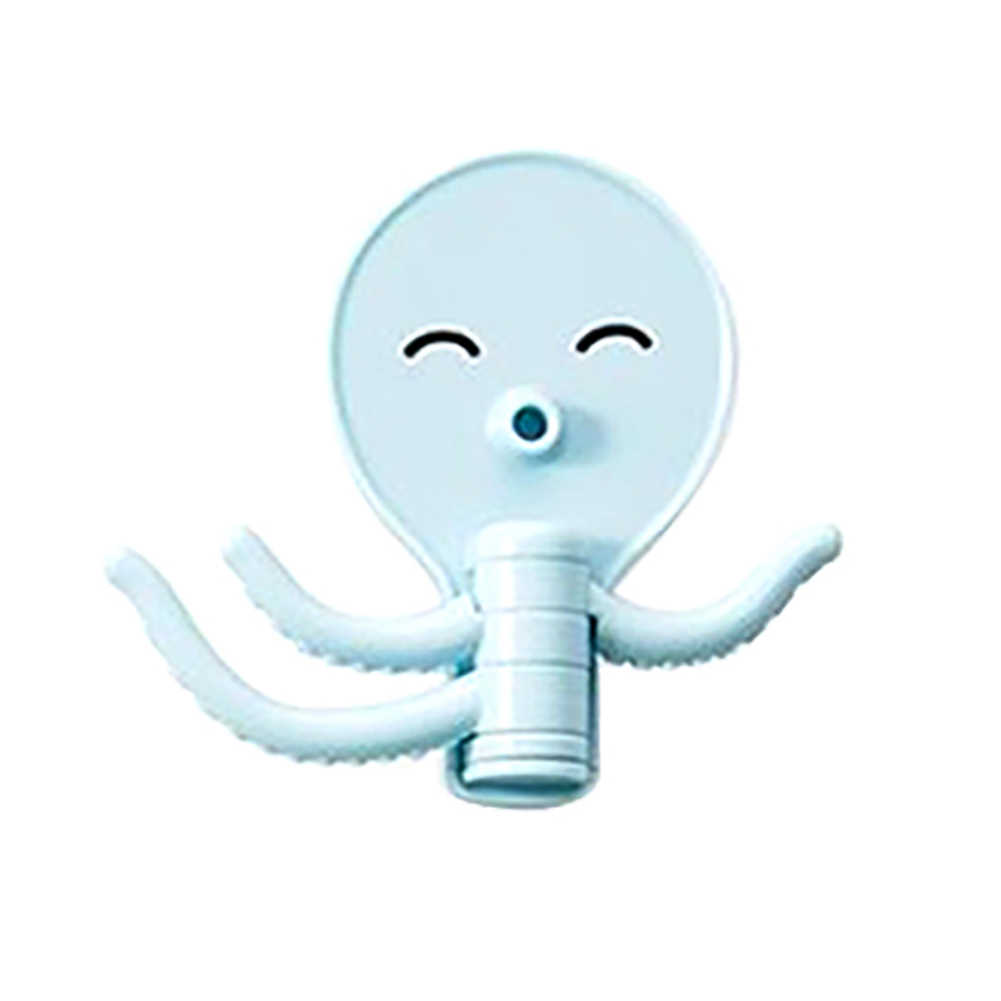 Новый креативный милый осьминог ключ Вешалка-наклейка крючок Органайзер ножницы Бритва держатель для ключей ванная комната холодильник ключ и декорационные крючки