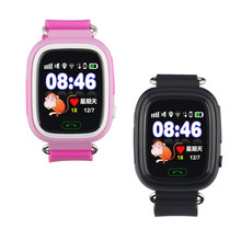 Q90 GPS WIFI Positioning kids Children Smart baby Watch SOS Location LocatoTracker Kid Safe Anti Lost Monitor Smart Phone Watch(China)