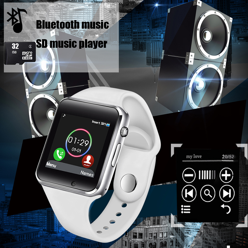 BANGWEI 2019 New Sport Smart Watch Sleep Monitoring Music Player SIM TF Smart Phone Call Couple Smart Watch Wearable Devices+Box