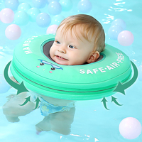 Baby Neck Swimming Ring Neck Float More Safety Swimming Ring Free Inflatable Collar Baby Swim Floating Neck Float Accessories