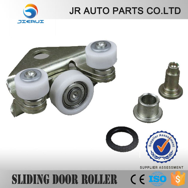 JIERUI  FOR VW T4 SYNCRO BOTTOM CENTRE LEFT AND RIGHT SLIDING DOOR ROLLER GUIDE