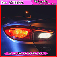 Car Styling for Mazda Atenza Mazda 6 Taillights 2014 2017 Atenza LED Tail Lamp Rear Lamp DRL+Brake+Park+Signal led light