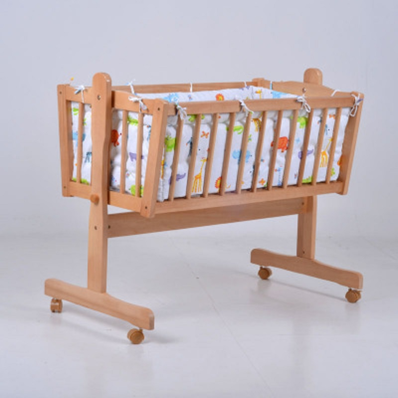 Export solid wood white color solid color baby cradle with baby bedding set женские чулки export