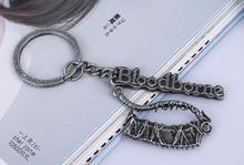 Новые аксессуары для аксессуаров для азартных игр Брелки для ключей Кровавое кошмарное издание Модное кольцо для ключей из сплава оптом