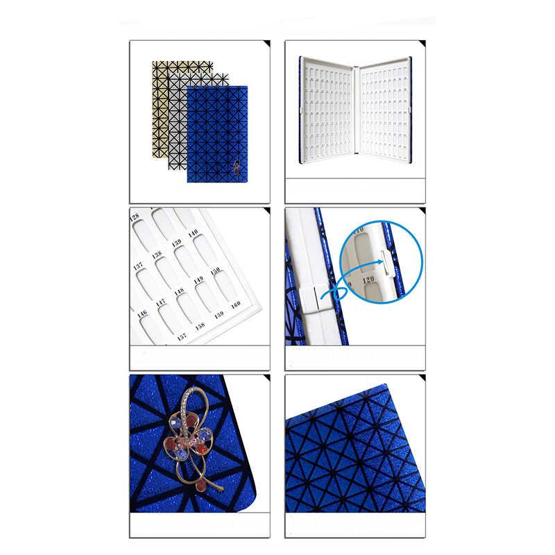 120/160 разноцветный гель для ногтей Польский Дисплей карты Книга Цвет 3 цвета на выбор доска карт Nail Art Salon маникюрные инструменты