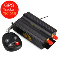 Universal Car GPS Tracker TK103B GPS GSM GPRS Vehicle Locator Remote Control SD SIM Card Anti theft 103 PC&web based GPS system