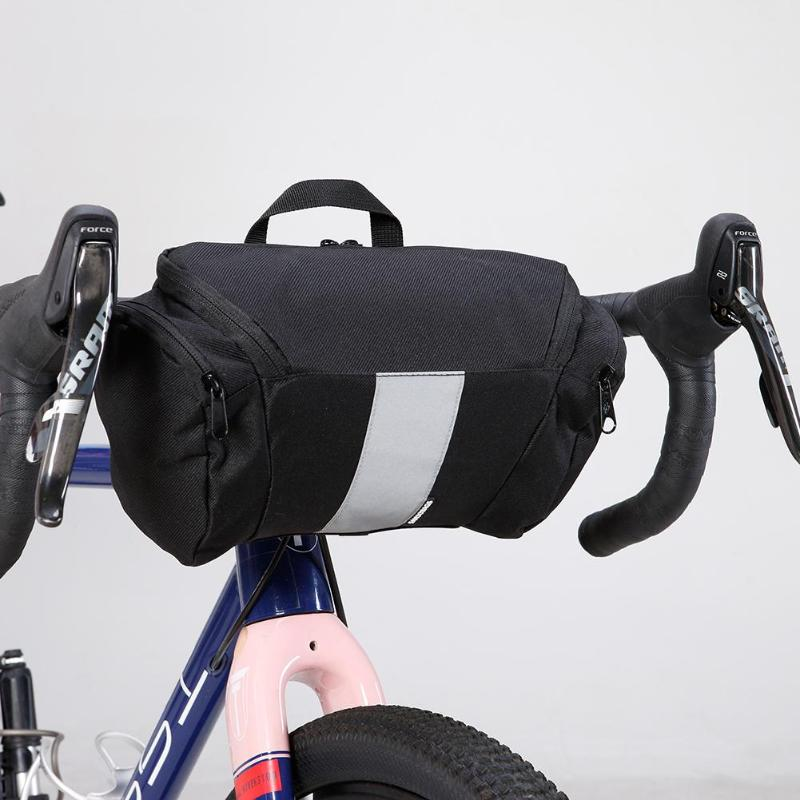 3L Waterproof Bicycle Handlebar Bag MTB Mountain Road Bike Front Basket Bag Cycling Front Frame Pannier Bicycle Accessories roswheel dry 3l cycling bike bicycle handlebar front basket pvc full waterproof bags bike accessories cycle pannier pouch 111361