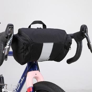 f99b8d7a47c Bolsa de bicicleta 3L impermeable bicicleta cabeza tubo manillar bolsa  marco frontal montaña carretera bicicleta Pannier bolsa accesorios de  bicicleta