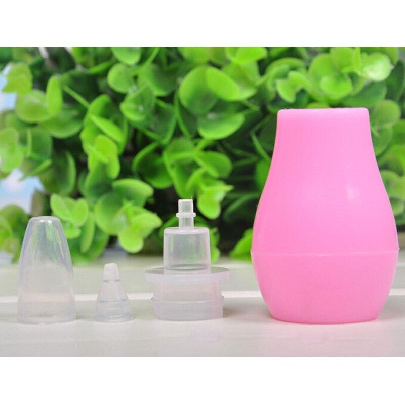Носовые пылесос присоски Силиконовые Детские нос слизи дозатор с насосом для очищения мягкий наконечник
