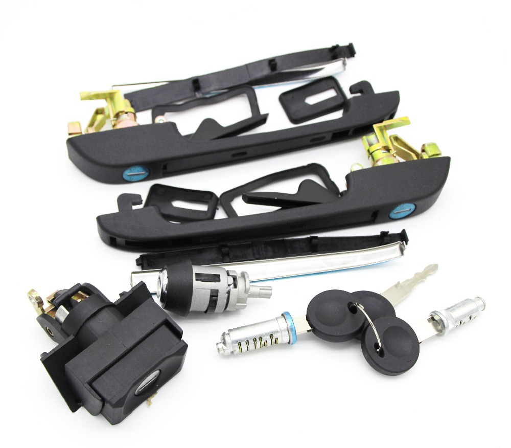 191898081 VW GOLF MK2 COMPLETE LOCK KIT SET DOOR HANDLES TAILGATE DOORS IGNITION WITH 2 SAME