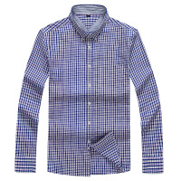 10XL 8XL 6XL 5XL Men S Flannel Plaid Shirts Dress 2017 Male Casual Warm Soft Comfort