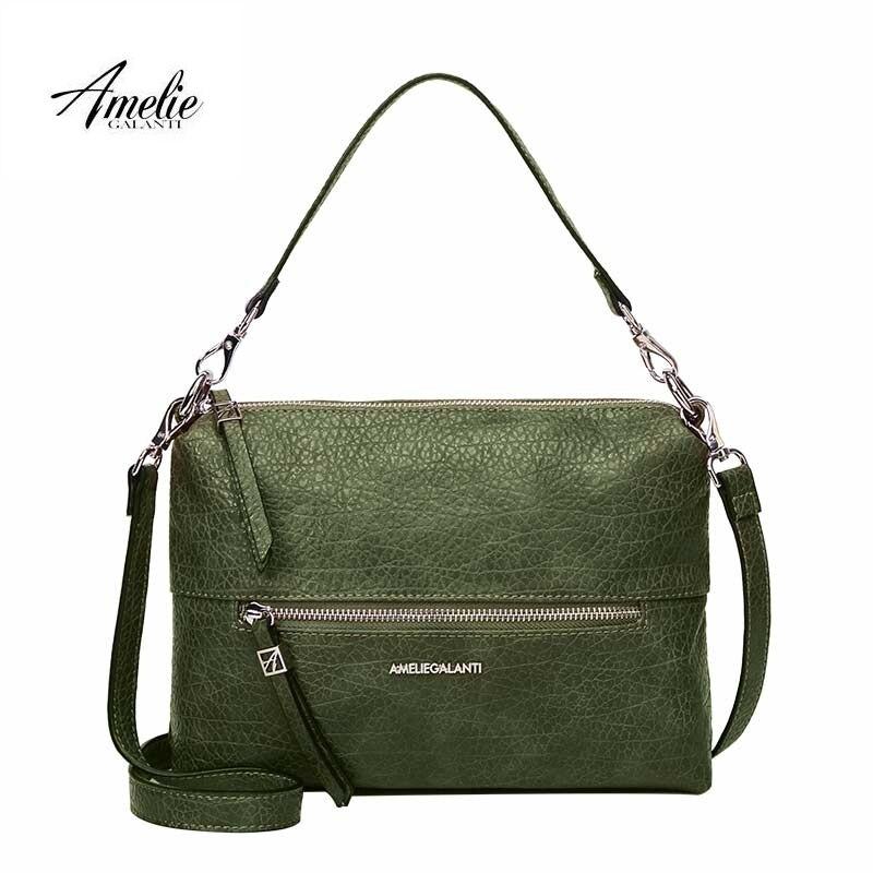f2b40b7b4cc AMELIE GALANTI Women's Bag Shoulder & Handbags Convenient and Practical  Medium Size Ladies Leather Bag
