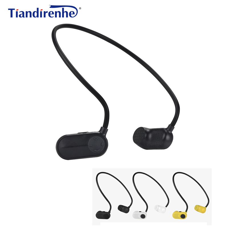 цена на Newest APT-X V31 Bone Conduction 8G 12G HIFI MP3 Player Waterproof Swimming Outdoor Sport Earphones USB MP3 Music Players