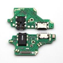 10 قطعة قطع غيار لهواوي P20 لايت/P20lite Nova 3e USB لوحة شحن حوض ميناء التوصيل موصل شحن الكابلات المرنة