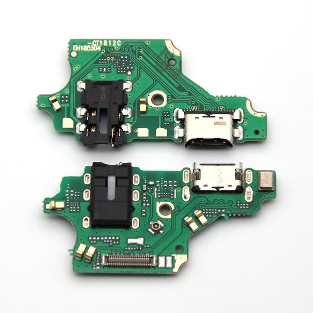 10 PCS parti di Ricambio Per Huawei P20 lite/P20lite Nova 3e USB Bordo Carica Spina Porta Dock Connettore di Ricarica cavo della flessione