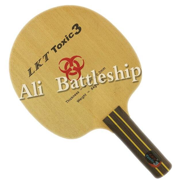 Original LKT Toxic3 Toxic 3 Chop Type table tennis blade straight ST handle