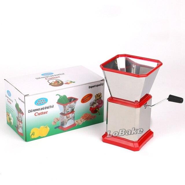 Mais recente Moda Multifuncional manual do despolpador vegetal triturador de misturadores de Salada de Legumes Moedor De Carne para a cozinha ferramentas de Gelo