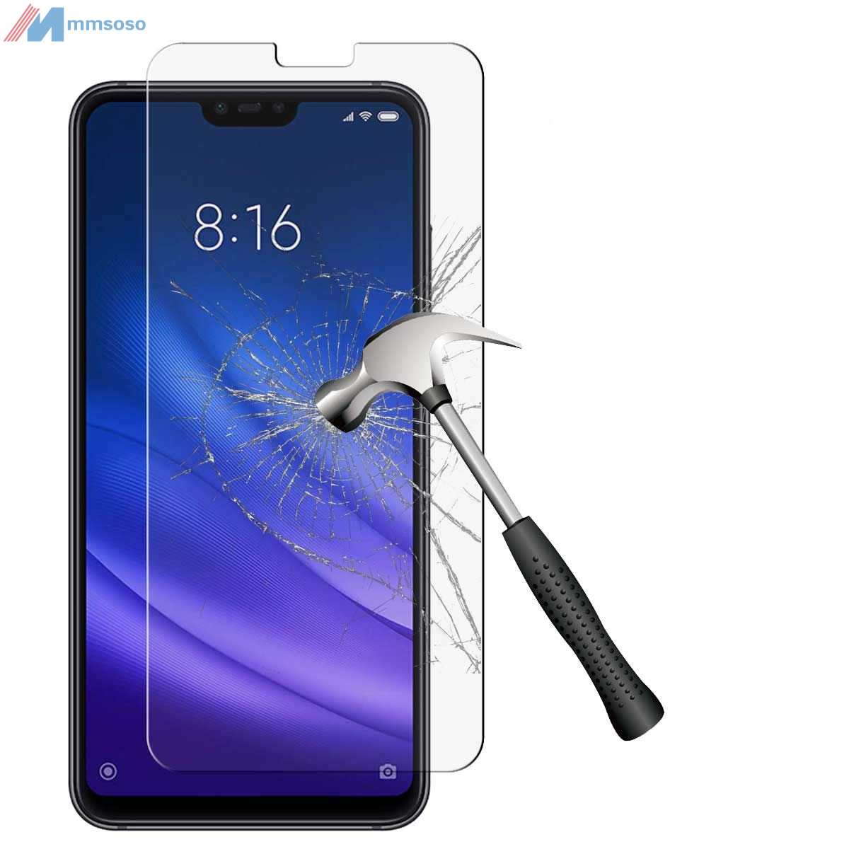 "9H Tempered Glass for Doogee N10 5.84"" GLASS Protective Film Screen Protector cover Mobile phone Doogee N10"