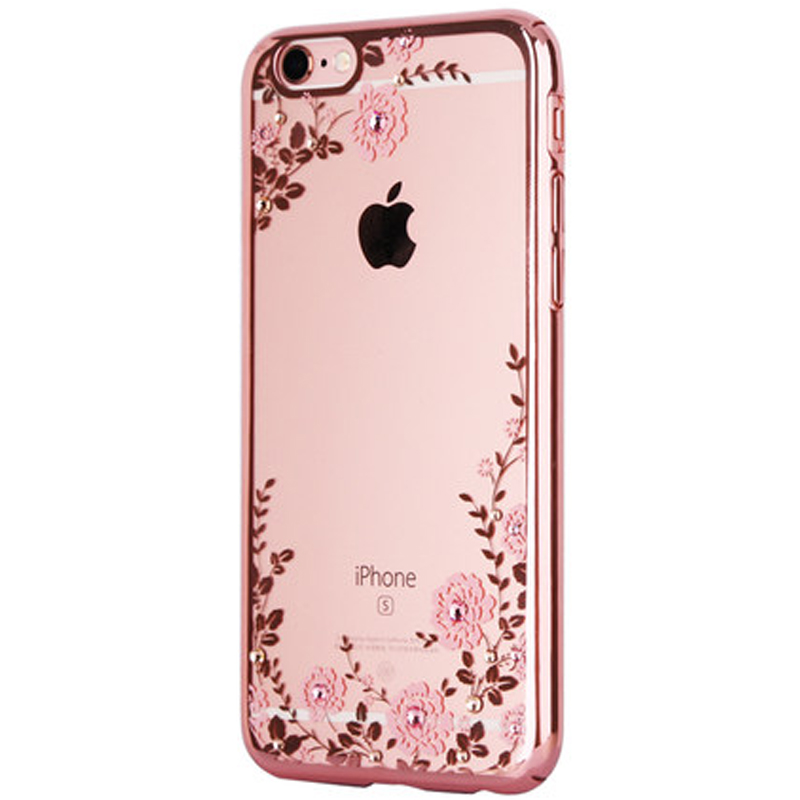 timeless design 2ae17 ee3e1 US $2.84 |rose gold luxury phone cover case for apple iphone7 iphone 7 plus  7plus Clear transparent girls diamond soft tpu battery cases-in Rhinestone  ...