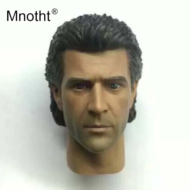 Mel gibson cabeça esculpir 16 escala masculino soldado resina cabeça escultura filme personagem modelo para figura de ação brinquedos coleção mnotht