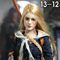 1 6 KUMIK Accessory Action Figure CG CY Girl Female Head Painted Ver 13 12 NP