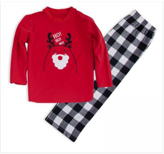 Family Matching new Clothes Mother Father Daughter Son Outfits Adult Kids Sleepwear Nightwear Pjs Family Christmas Pajamas Set