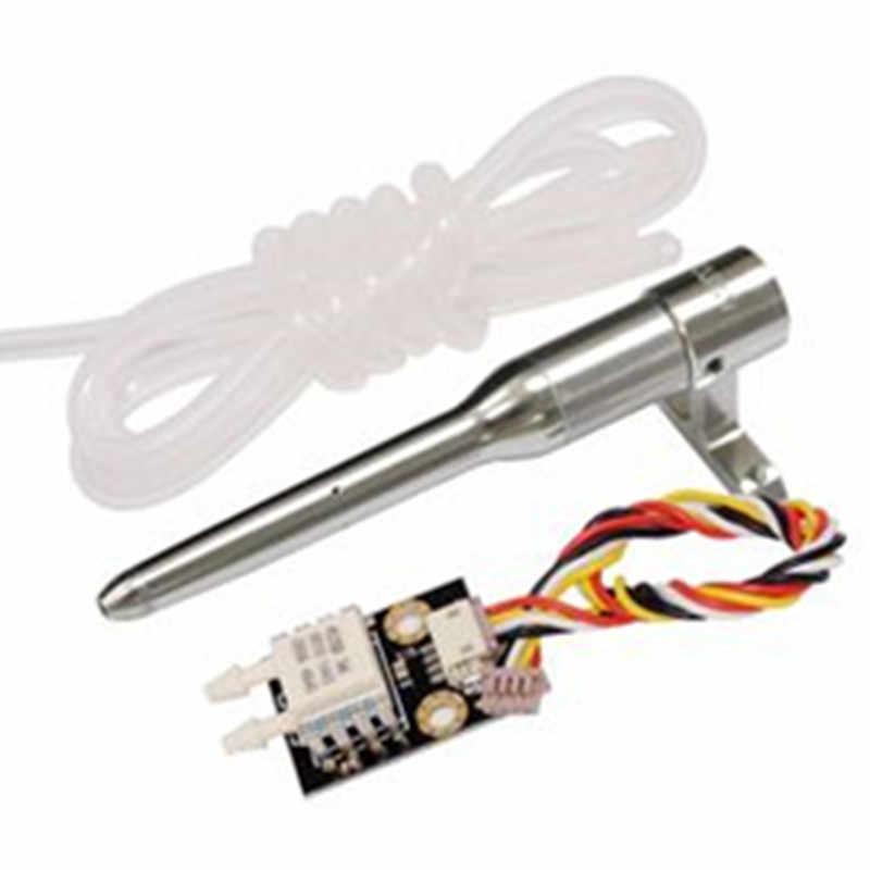CUAV Pitot Tube Airspeed Meter zestaw czujników prędkości różnicowej dla Pixhawk APM PX4 kontroler lotu Model RC samolot