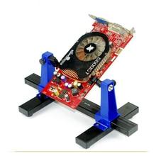 SN 390 אוניברסלי מתכוונן המעגלים מהדק PCB בעל מתקן הלחמה עזר קלאמפ עבור מייל שבבי לוח האם תיקון