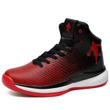 цена на Man High Top Jordan Basketball Shoes Men's Cushioning Basketball Sneakers Non-slip Breathable Outdoor Sports Jordan Retro Shoes