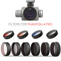 PGYTECH DJI phantom 4 Pro Pro+ Accessories Lens Filters UV ND4 8 16 32 64 CPL UV gradual HD Filter Drone gimbal RC Quadcopter pa
