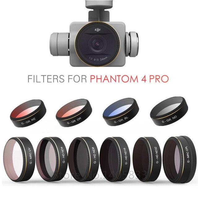 Светофильтр nd32 для диджиай phantom 4 pro восстановить поврежденное видео программа