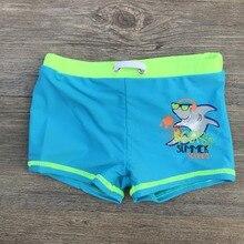 Sunga infantil/детские плавки с принтом акулы для мальчиков от 3 до 10 лет, пляжная одежда детский купальный костюм, одежда для купания, г., b150