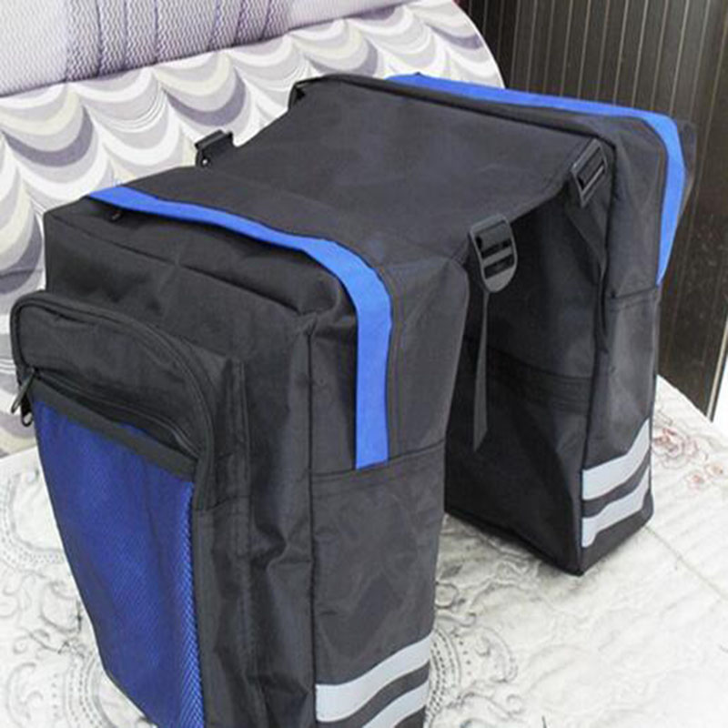 ФОТО Outdoor Cycling bicycle Double packsLarge size Many Pocket Mountain bike Pack after pack Polyester After the shelf package