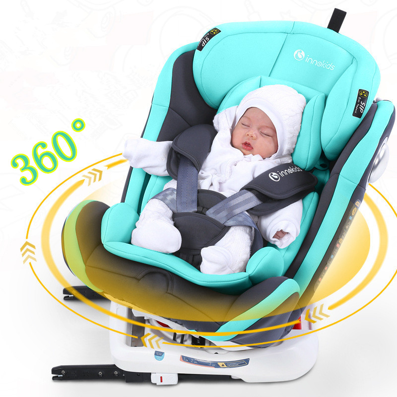360 ruota bambino seggiolino auto telaio in acciaio con interfaccia ISOFIX seggiolini auto per bambini per 0-3 anni di età del bambino ECE e 3C certificazione