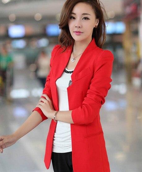 Comprar blazer rojo mujer