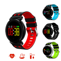 K2 Smart Bracelet Blood Pressure Heart Rate Monitor Blood Oxygen Detection IP68 Waterproof Multilingual Push Smart