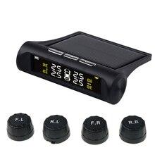 4 capteurs voiture alarme de pression des pneus TPMS affichage numérique auto testeur de pression des pneus avertissement de fuite système de surveillance de pression des pneus