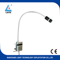 CE operating room examination lamp operating light JD1200J 12w clip on wall black goose neck free shipping 1set