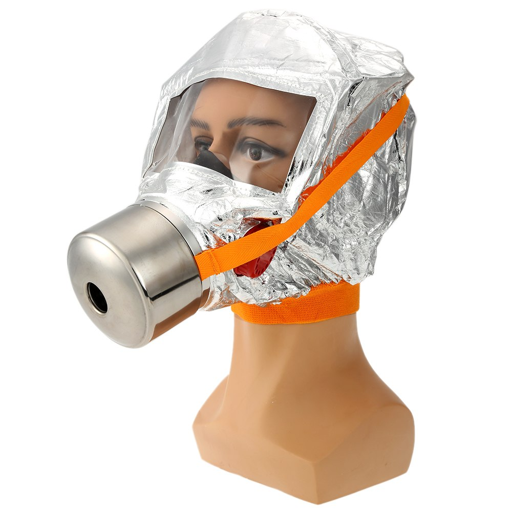 Emergency Escape Gas Mask Firemen Fire Oxygen Mask Self-life-saving Respirator 30 Minutes Smoke Toxic Filter