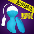 Koro Ben Wa Ball Weighted Female Kegel Vaginal Tight Exercise Machine USB Charging Vibrator Vibrating Egg Sex toys for Women