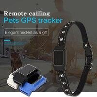 Pet Smart Mini gps трекер ошейник для домашних собак кошек отслеживание устройство определения местоположения gps отслеживающее устройство анти-по...