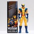 """Marvel Super Hero X-men Wolverine Железный Человек ПВХ Фигурку Коллекционная Игрушка 12 """"30 СМ Розничная Бесплатная Доставка"""