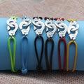 Francia Fomous Marca de Joyería de Plata de Ley 925 Pulsera Esposas Para Mujeres Hombres Pulsera de Cuerda Pulsera de Plata 925 Menottes
