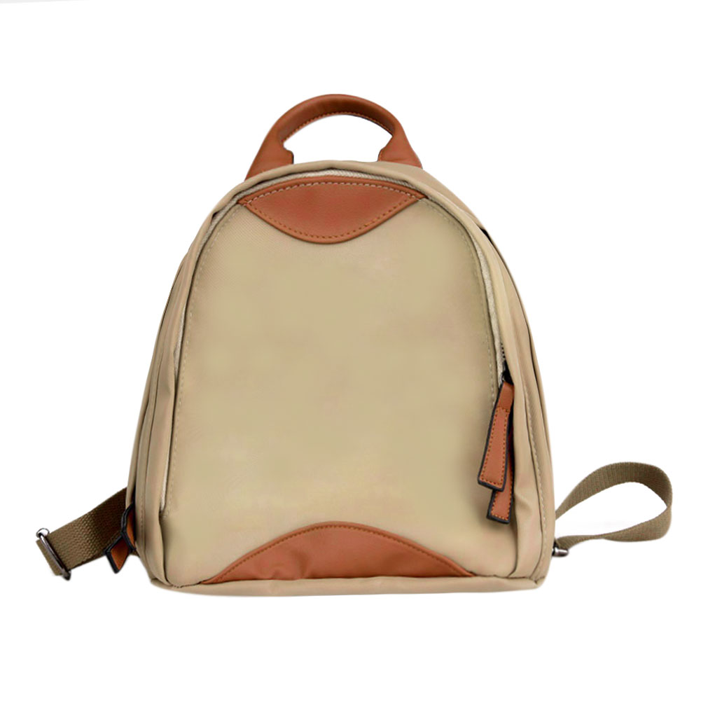 Fashion PU Oxford Hit Color Backpack Casual Travel School Bags for Teenager Girls Rucksack Women