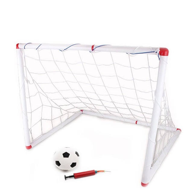 Outdoor Soccer Game Sport Toy Family Game Boy Children Plastic Football Goal Sets   YS-BUY
