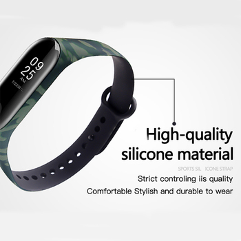 BOORUI Miband 3 Strap Mi band 3 Accessories silicone varied strap my band 3 Replacement for xiaomi mi 3 smart bracelets 1