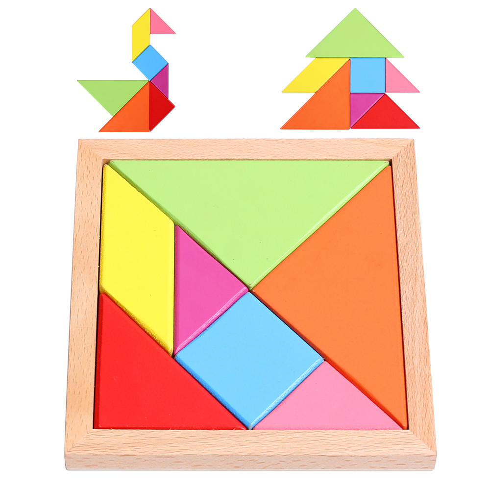 Large tangoing jigsaw puzzle classical wool toy geometry 3d bag 3d jigsaw paper hero style puzzle block assembly toy