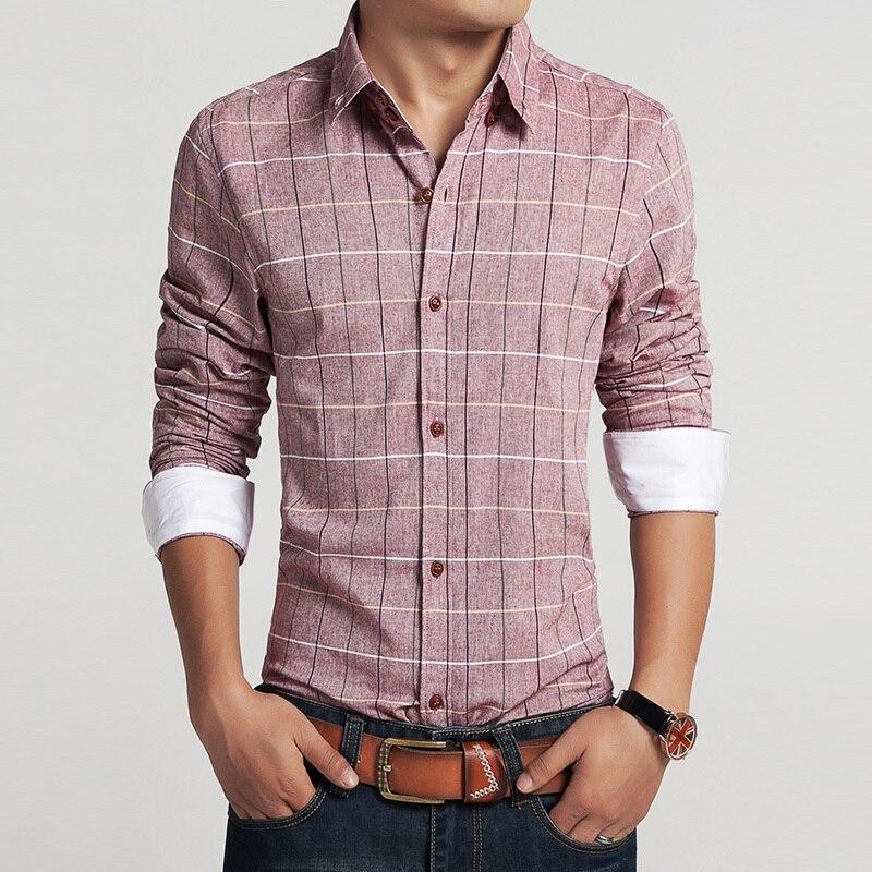 26ee44c9c2c 2015 men 100% cotton retro dress shirts brand hot man spring autumn ...